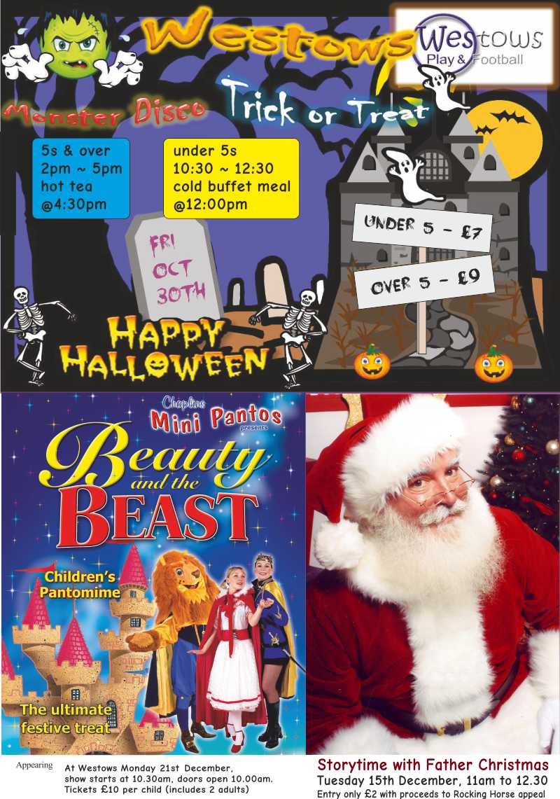 Halloween and Christmas at Westows